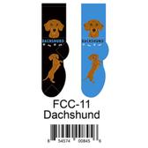 Dachshund Foozys Unisex Dog Socks FCC-11