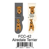 Airedale Terrier Foozys Unisex Dog Socks FCC-42
