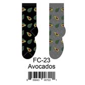 Avocados Foozys Womens Socks FC-23
