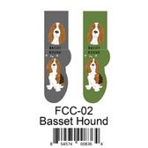 Basset Hound Foozys Unisex Dog Socks FCC-02