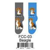 Beagle Foozys Unisex Dog Socks FCC-03