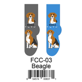 Beagle Foozys Unisex Dog Socks FCC-03