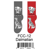 Dalmatian Foozys Unisex Dog Socks FCC-12