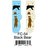 Black Bear Foozys Womens Socks FC-54
