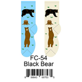 Black Bear Foozys Womens Socks FC-54
