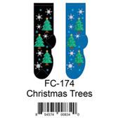 Christmas Trees Foozys Womens Socks FC-174