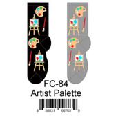 Artist Palette Foozys Womens Socks FC-84