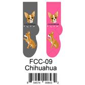 Chihuahua Foozys Unisex Dog Socks FCC-09