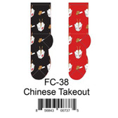 Chinese Takeout Foozys Womens Socks FC-38