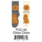 Chow Chow Foozys Unisex Dog Socks FCC-44