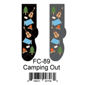 Camping Out Foozys Womens Socks FC-89