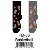 Basketball Foozys Mens Socks FM-06