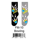 Bowling Foozys Mens Socks FM-10