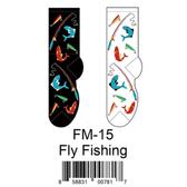 Fly Fishing Foozys Mens Socks FM-15