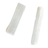 "Selenite Rough Wand 8"" Assort"