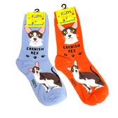 Cornish Rex Feline Cat Foozys Socks FFC-07