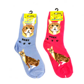 Manx Feline Cat Foozys Socks FFC-12
