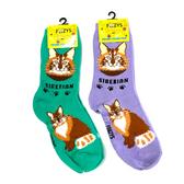 Siberian Feline Cat Foozys Socks FFC-20