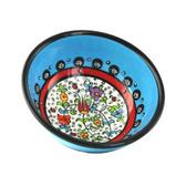 Nimet Classical Turkish Porcelain Bowl 10cm by Paykoc N10010 Light Blue