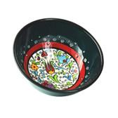 Nimet Classical Turkish Porcelain Bowl 10cm by Paykoc N10010 Green