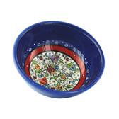 Nimet Classical Turkish Porcelain Bowl 10cm by Paykoc N10010 Blue