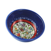 Nimet Classical Turkish Porcelain Bowl 10cm by Paykoc N10010 Blue