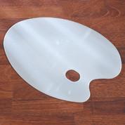Perspex Kidney Palette - Large