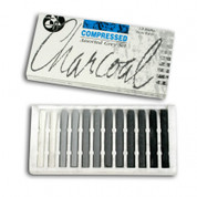 Jakar - Compressed Charcoal Assorted Grey Set