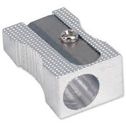 Metal Pencil Sharpener - 1 Hole