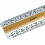 Jakar - Acrylic Scale Ruler