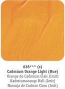 Daler Rowney - System 3 Acrylics - Cadmium Orange Light Hue