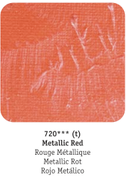 Daler Rowney - System 3 Acrylics - Metallic Red