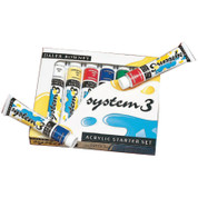 Daler Rowney - System 3 Acrylics - Starter Set