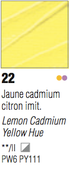 Pebeo Studio Acrylic - Lemon Cadmium Yellow Hue