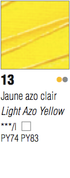Pebeo Studio Acrylic - Light Azo Yellow