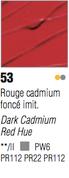 Pebeo Studio Acrylic - Dark Cadmium Red Hue