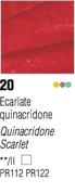 Pebeo Studio Acrylic - Quinacridone Scarlet