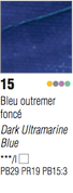 Pebeo Studio Acrylic - Dark Ultramarine Blue