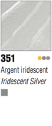 Pebeo Studio Acrylic - Iridescent Silver