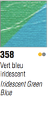 Pebeo Studio Acrylic - Iridescent Green Blue