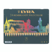Lyra Rembrandt Polycolour - Set in Tin 24