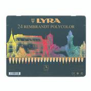Lyra Rembrandt Polycolour - Set in Tin 24