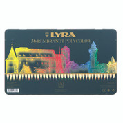 Lyra Rembrandt Polycolour - Set in Tin 36