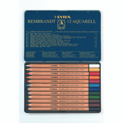 Lyra Rembrandt Aquarelle - Set in Tin 12