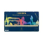 Lyra Rembrandt Aquarelle - Set in Tin 36