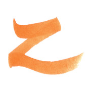ZIG Art & Graphic Twin Tip Brush Pen - Orange 4