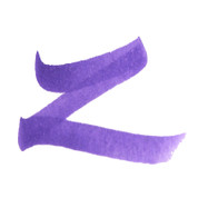 ZIG Art & Graphic Twin Tip Brush Pen - Violet 6