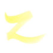 ZIG Art & Graphic Twin Tip Brush Pen - Lemon Yellow 10