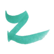 ZIG Art & Graphic Twin Tip Brush Pen - Turquoise Green 54