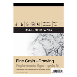 A3 160gsm 30 sheets Daler Rowney Fine Grain Cartridge Pad
